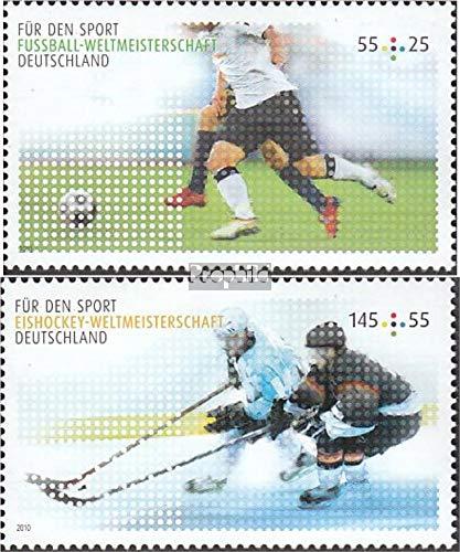 Prophila Collection Germania 2788-2789 (Completa Edizione) 2010 Sport Aid (Francobolli per i Collezionisti) Calcio