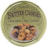 Butter Cookies Dänische und Choco Chip, 500 g