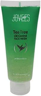 Jovees Tea Tree Oil Control Face Wash (120ml) - Pack of 3