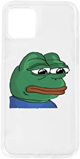 Sad Pepe The Frog I-Phone 11pro Full Body Protection Shockproof Cover Case Drop Protection for Phone