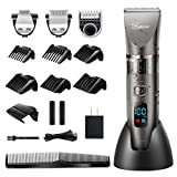 Best Bear Trimmers - Hatteker Mens Beard Trimmer Cordless Hair Trimmer Hair Review