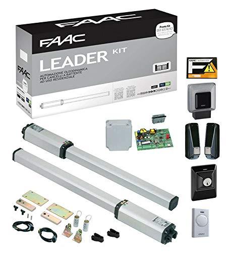 FAAC Leader 10563344 - Kit automático de Puerta batiente eléctrica dfm