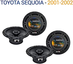 Compatible with Toyota Sequoia 2001-2002 Factory Speaker Upgrade Harmony (2) R65 Package New