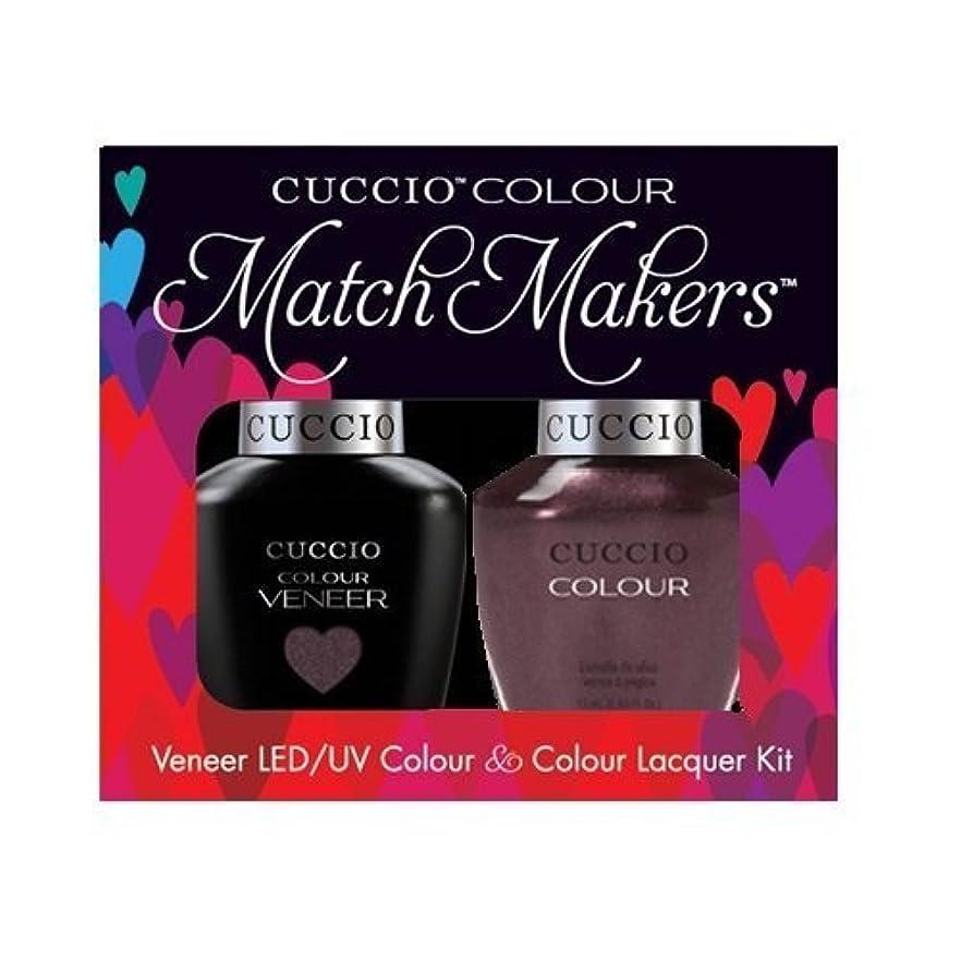 所有権農村柔らかい足Cuccio MatchMakers Veneer & Lacquer - One Night in Bangkok - 0.43oz / 13ml Each