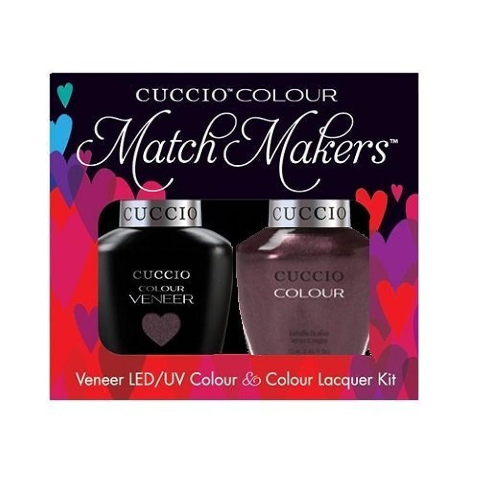 救急車イーウェル苦情文句Cuccio MatchMakers Veneer & Lacquer - One Night in Bangkok - 0.43oz / 13ml Each