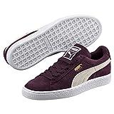 PUMA Suede Classic, Sneakers Basses Femme, Violet (Winetasting-White), 39 EU