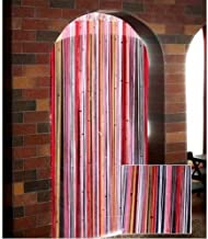 Exporthub Beautiful Polyester Door String Curtain - 7ft, Pink