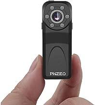 PNZEO PD6 Mini Camera 1080P HD IR Night-Vision 140° Wide-View-Angle Recorder Super-Small Sport Camera Body-Worn Camera …