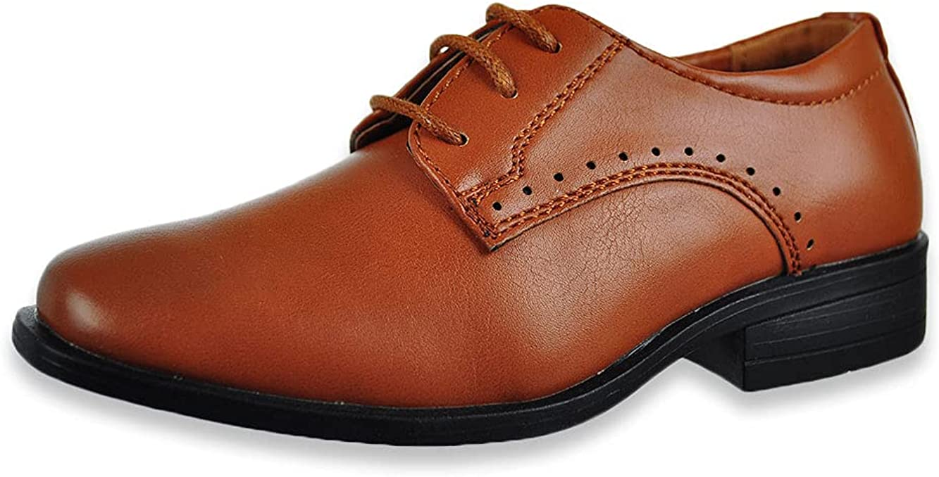 Mario Lopez Boys' Felix Oxford Dress Shoes