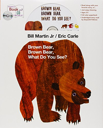 Brown Bear book and CD storytime set (Brown Bear and Friends)