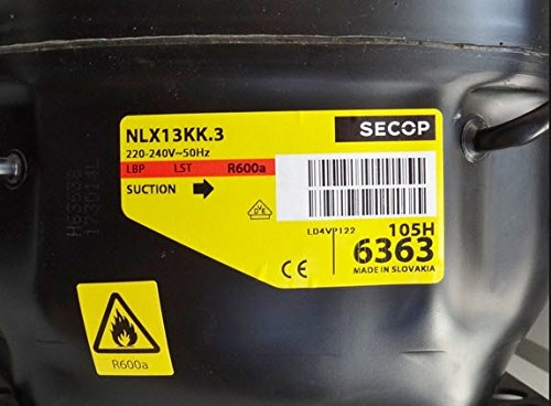 UNIVERSAL Kompressoren Danfoss/secop R600Gas–Nlx13kk. 3–225W 1/3C.O. 49032344