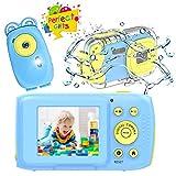 YinFun Cámara para Niños 8MP 1080P Cámara Acuatica para Niños 2.0 HD Pantalla Camara Infantil
