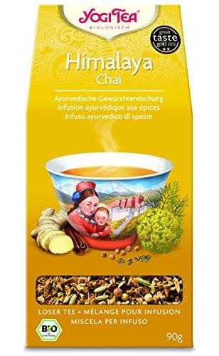 10 x Yogi Tee BIO Himalaya Chai 90g lose (=10er Pack)