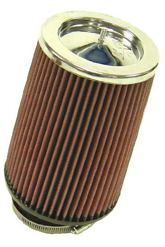 rf-1003 K & N UNIVERSAL Clamp On Air Filter 3–1/5,1 cm 10deg flg, 5–3/10,2 cm B, 12,7 cm T, 20,3 cm lang (Universal Air Filter)
