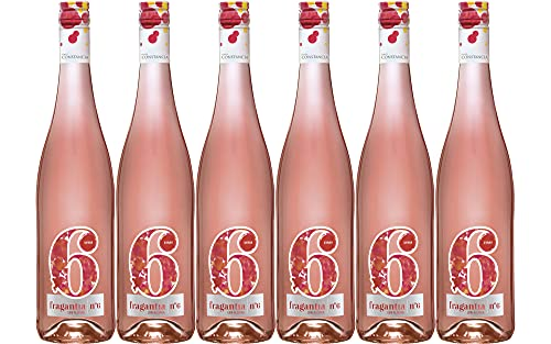 Fragantia 6 - Vino Rosado V.T. Castilla - 6 Botellas de 750 ml - Total : 4500 ml