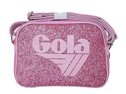 Tracolla Mini Redford Glitter DustRosa E Silver30x20x8 cm (Pink)