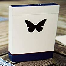 Butterfly Playing Cards (Blue) Edition Rare Marked Deck by Ondrej Psenicka