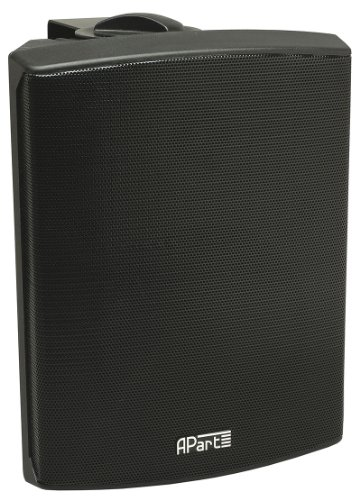 Apart Audio Sdq5p-bl Kompaktes 2-Wege Lautsprecherset - schwarz