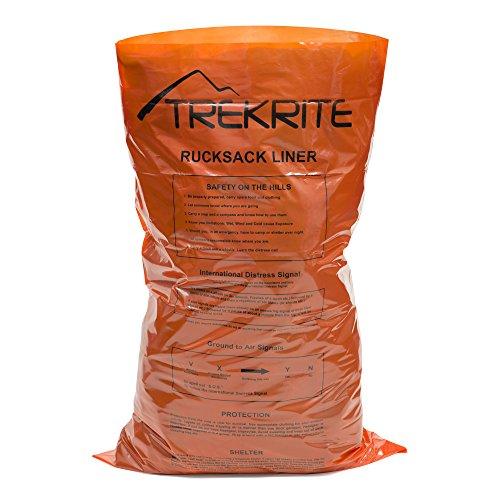Trekrite Waterproof Rucksack Liner - Hi Vis Orange