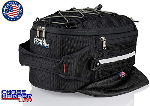 Chase Harper USA 650M Magnetic Tank Bag - Water-Resistant, Tear-Resistant, Industrial Grade Ballistic Nylon with Anti-Scratch Rubberized Polymer Bottom, Super Strong Neodymium Magnets