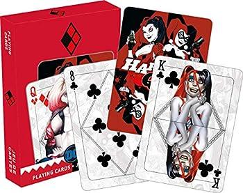 AQUARIUS DC Comics Harley Quinn Mirror Playing Cards