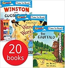Time to Read Series collection of 20 Books Set (Julia Donaldson, Chris Riddell, Tim Hopgood, Emma Carlisle, and others)