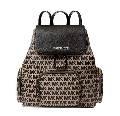 Michael Kors Abbey Cargo Backpack (BAIGE MULTI)