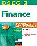 DSCG 2 - Finance - 3e édition - Manuel et applications - Manuel et Applications
