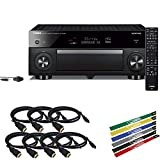 Yamaha AVENTAGE RX-A1080 7.2-Channel Network A/V Receiver Accessory Bundle