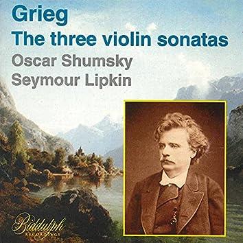 Grieg: The 3 Violin Sonatas