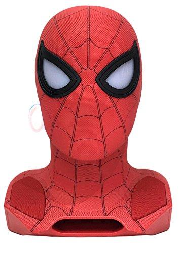 Marvel - Enceinte Sans Fil - Spiderman - Tete 1:1 avec Projecteur 2017 Home Coming Style