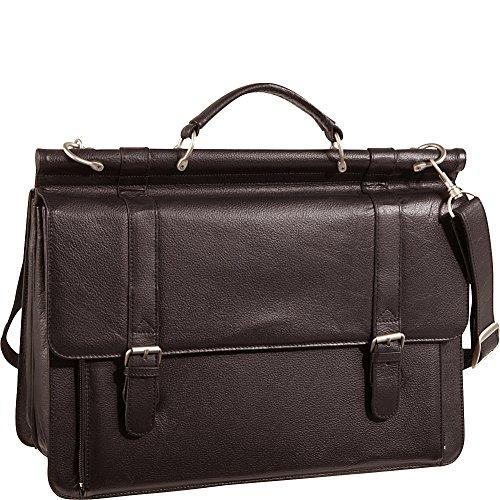 amerileather leather briefcases Amerileather Executive Briefcase (Dark Brown)