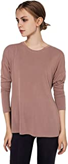 Sentao Long Sleeve Workout Shirts for Women-Women's Athletic Tops, Running Yoga Shirts Top