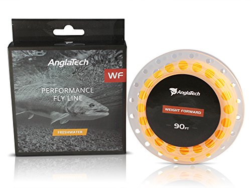 Anglatech Fly Fishing Line Floating Weight Forward WF 3 4 5 6 7 WT for...