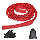 Yeipower Bike Kids Tow Rope-Attachment - MTB Trailer Bike Tow Bungee Pull Behind Strap Bar Compatible with Any Mountain Bicycle
