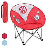Board Masters Volkswagen Folding Moon Camping Chair - Official Camper Van Design