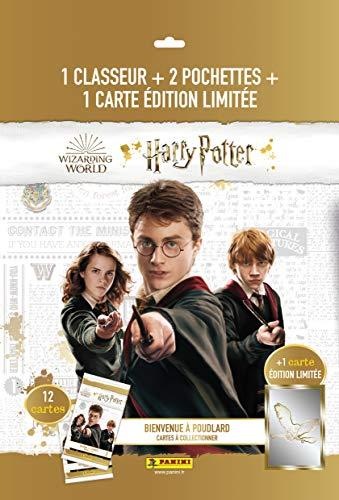 Panini France SA-Harry Potter TC Bienvenue à Poudlard Starter Pack, 004220SPCFGD