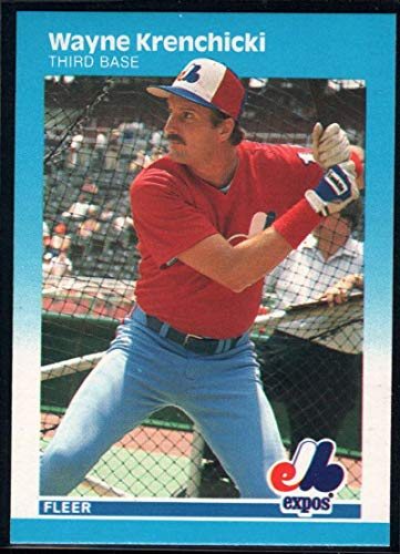 Baseball MLB 1987 Fleer #322 Wayne Krenchicki Expos