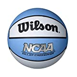 Wilson Killer Crossover Basketball, Carolina Blue/White, Intermediate - 28.5'