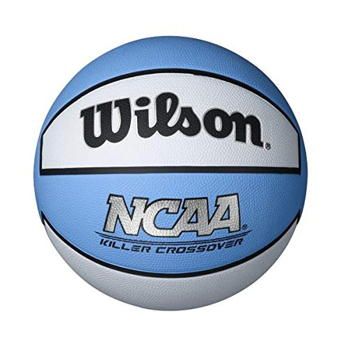 Buy Bargain Wilson Killer Crossover Basketball, Carolina Blue/White, Intermediate - 28.5