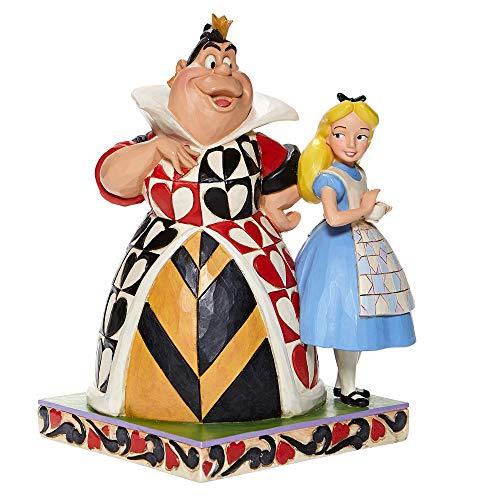 Jim Shore Alice & Regina di Cuori Disney Tradizioni