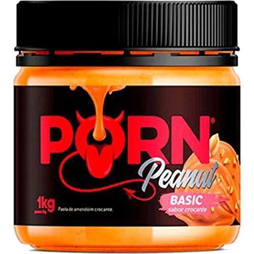 Pasta de Amendoim Basic Crocante 1Kg - Porn Fit