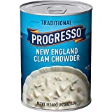 Progresso Traditional Soup, New England Clam Chowder, 18.5-Ounce Cans (Pack of 12)