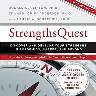 StrengthsQuest audiobook cover art