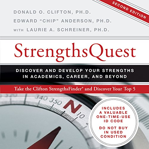StrengthsQuest audiobook cover art