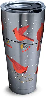 Tervis 1318409 Cardinals Stainless Steel Insulated Tumbler with Lid, 30 oz, Silver
