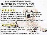 """Fellscheren-Set Hunde-Haarschere Gebogen und Gerade 16,5 cm und Pfotschere 11,2 cm mit Mikroverzahnung """"BLUE TITANIUM"""" - 6"""