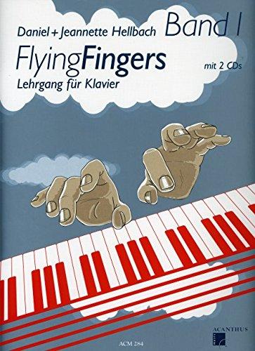 Flying fingers 1 - arrangiert für Klavier - mit 2 CD´s [Noten / Sheetmusic] Komponist: HELLBACH DANIEL + HELLBACH JEANNETTE