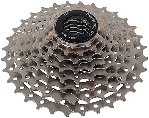 Beenle-Icey Piñón de rueda libre para bicicleta de 8 velocidades MTB 11-13-15-18-21-24-28-32T accesorio de repuesto piñón para bicicleta de carretera