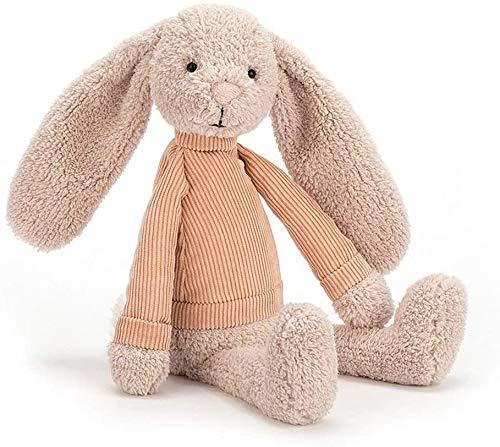 SongJX-Love Juguete Animal de Conejo Perro Peluche Juguetes de niños (Color: Verde), Nombre de Color: Verde Gzzxw (Color : Beige)